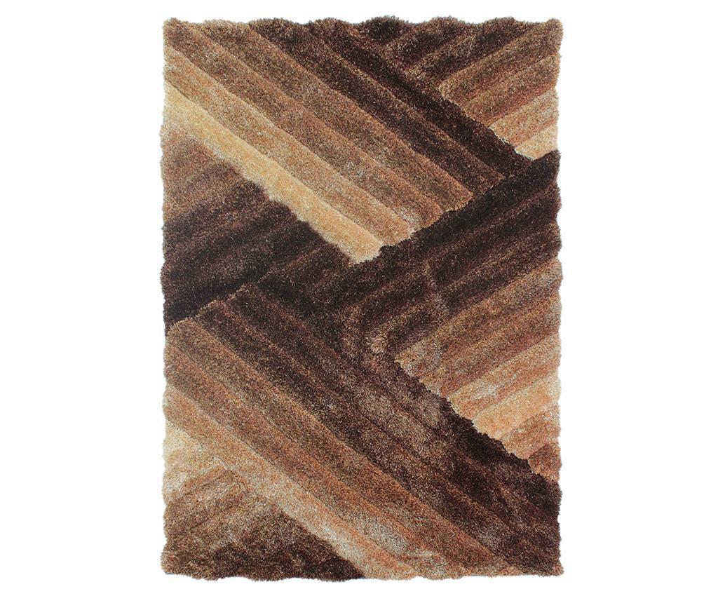 Lattice Brown and Bronze Szőnyeg 120x170cm