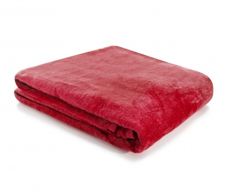 Koc Soft Red 180x220 cm