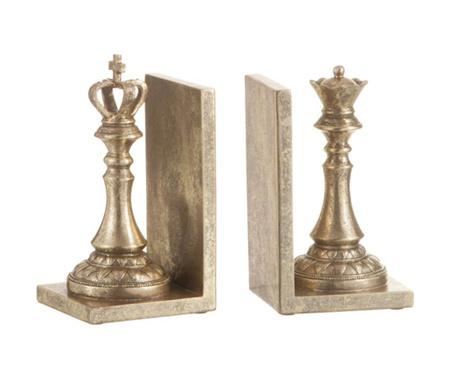 Комплект 2 поставки за книги Queen and King