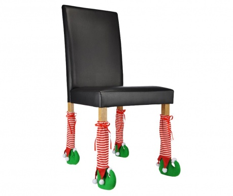 Zestaw 4 skarpetek na nogi od krzeseł Elves