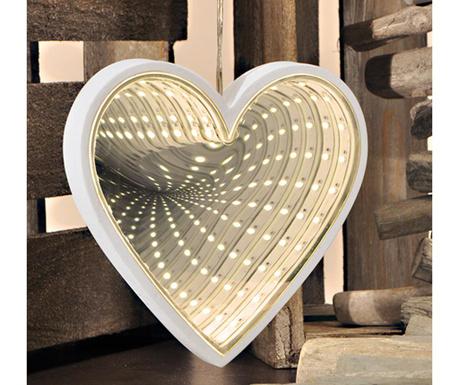 Infinity Heart Fénydekoráció