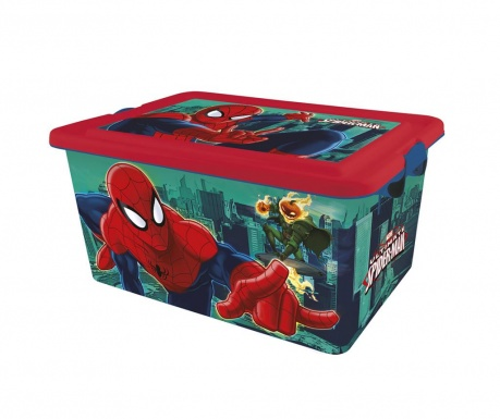 The Ultimate Spider-Man Tárolódoboz fedővel