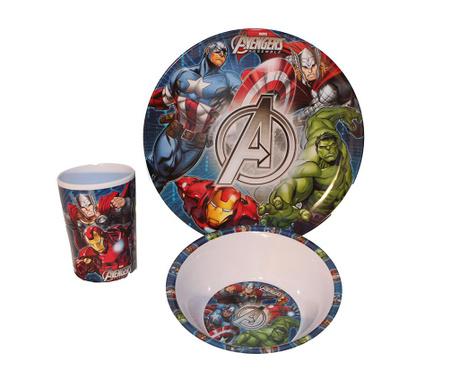 The Avengers 3 darabos Étkészlet