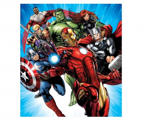 Tapeta World's Mightiest Heros 180x202 cm