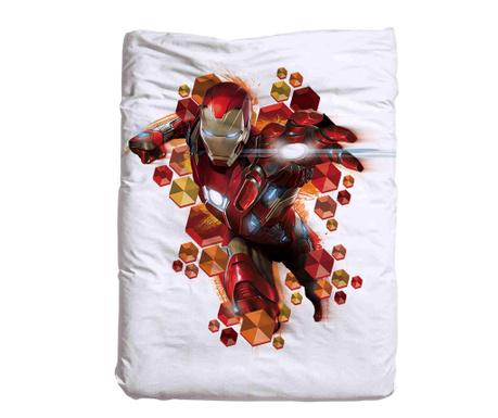 Iron Man Paplanhuzat 140x200 cm