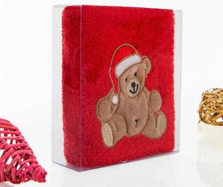 Πετσέτα μπάνιου Bear Christmas 30x50 cm
