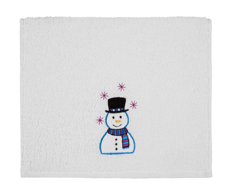 Ręcznik kąpielowy Smiling Snowman 30x50 cm