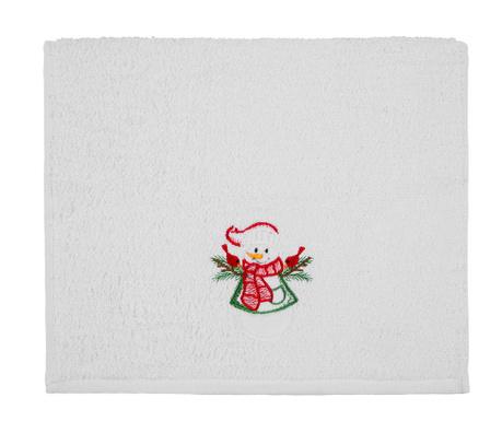 Kupaonski ručnik Christmas Snowman 30x50 cm