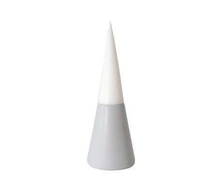 Podstavec se svíčkou Vulcano Light Grey M