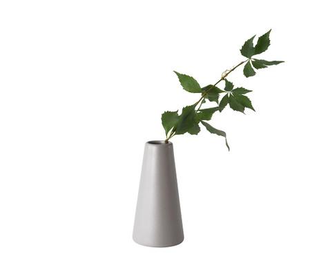 Svečnik s svečo Vulcano Grey L