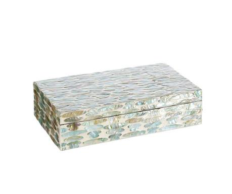 Krabice s víkem Aquamarina