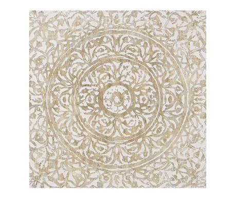 Mandala Circle Kép 100x100 cm