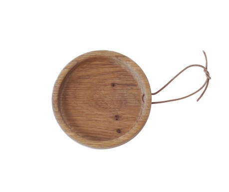 Servirni pladenj Flip Round Oak S