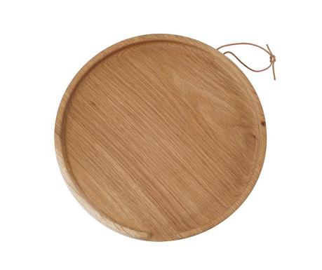 Tava pentru servire Flip Round Oak L
