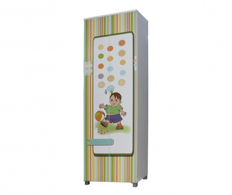 Otroška garderobna omara Afacan