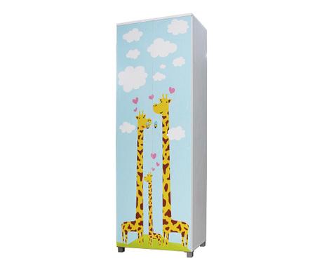 Otroška garderobna omara Giraffe