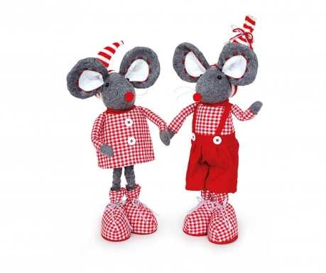 Set 2 decoratiuni Mouse Love