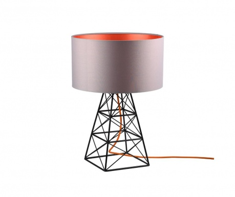 Veioza Pylon Grey Orange