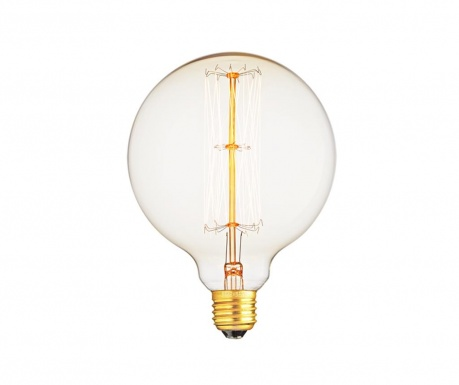 LED sijalka E27-4W Retro Globe 125