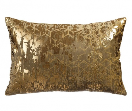 Okrasna blazina Geometric Gold 40x60 cm