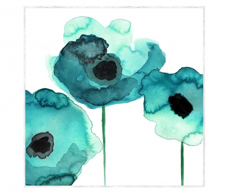 Tablou Gentle Flowers 75x75 cm