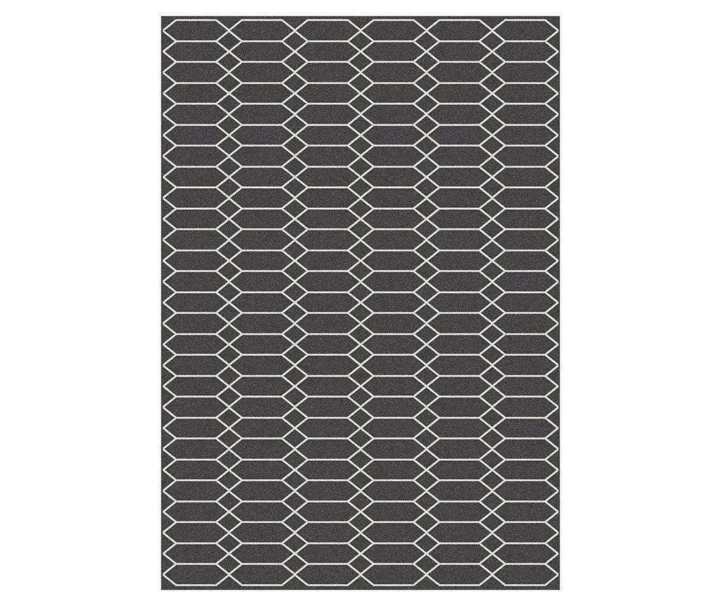 Preproga Norway Black 160x230 cm