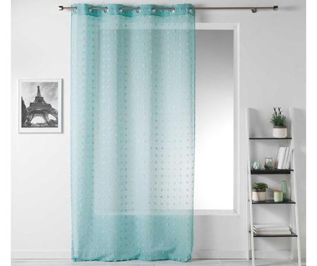 Záclona Pompom Green 140x240 cm