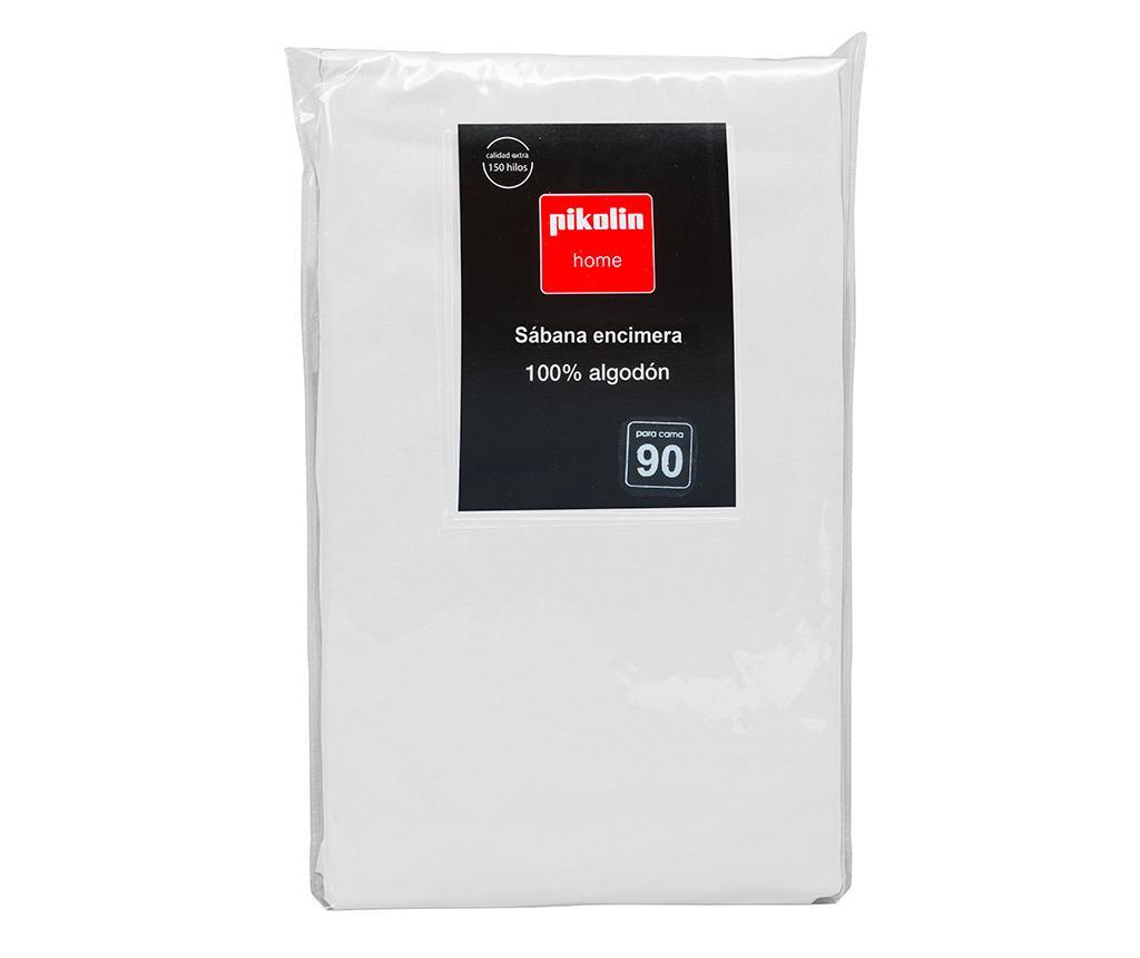 Cearsaf de pat Percale Quality White 260x260 cm