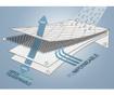 Husa matlasata impermeabila pentru saltea Ultra Breathable Tencel 160x190 cm