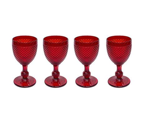 Zestaw 4 kieliszków do wina Gaia Red