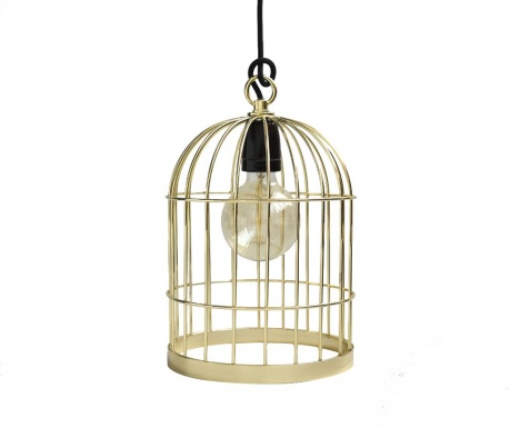 Lustra Bird Cage Gold Black
