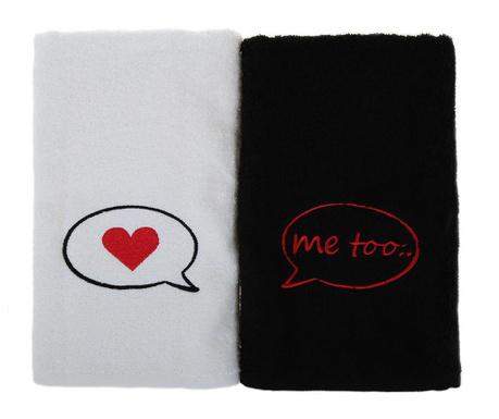 Me Too 2 db Fürdőszobai törölköző 50x90 cm