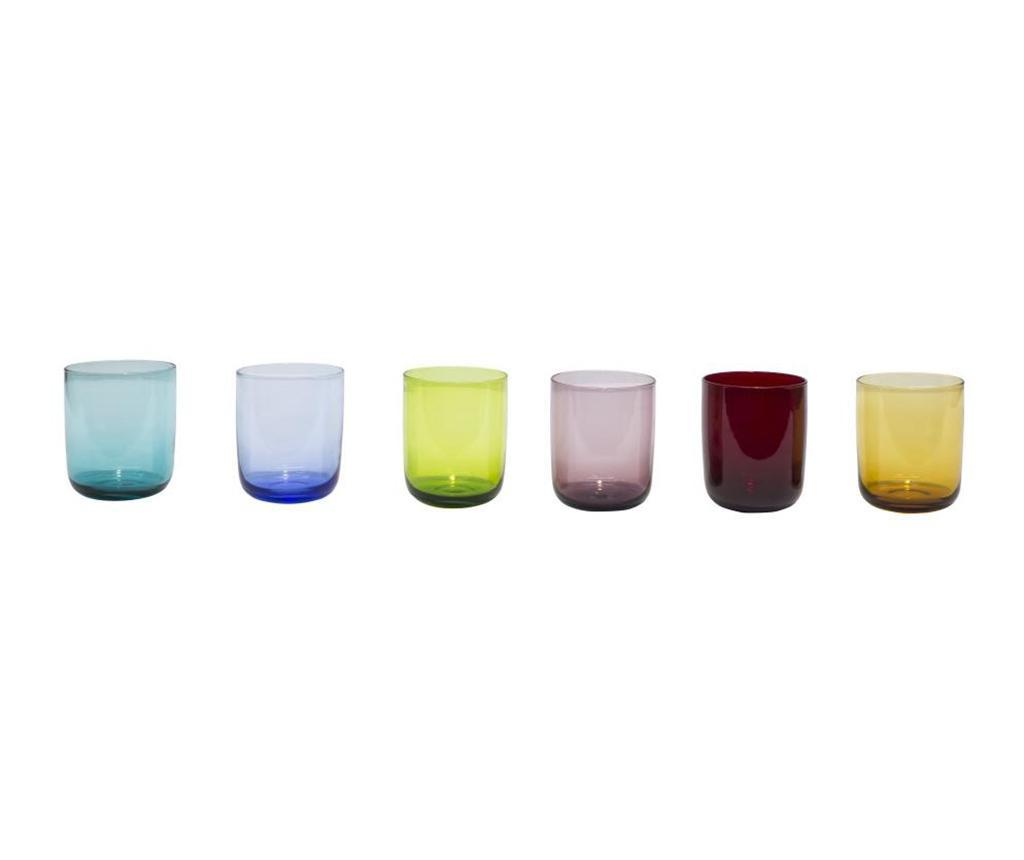 Set 6 pahare pentru apa Alicudi