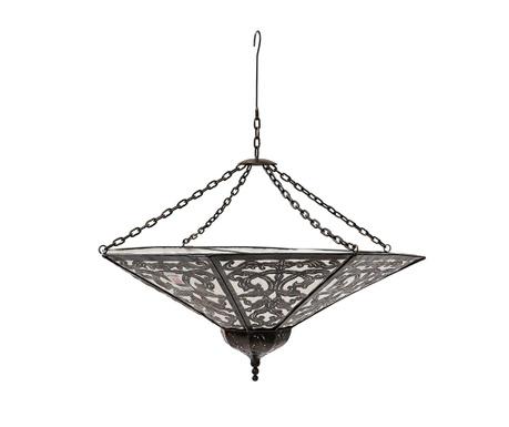 Stropna svetilka Marrakesh Plate S