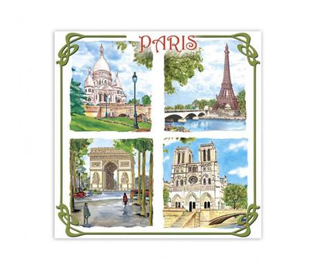 Paris Monuments Szekrény illatosító
