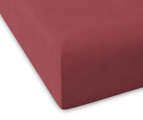 Plahta s elastičnom gumicom Percale Pure Raspberry