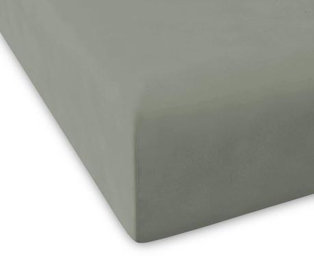 Plahta s elastičnom gumicom Percale Pure Green