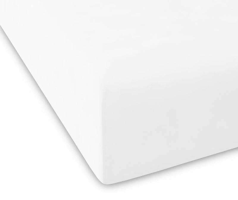 Rjuha z elastiko Percale Pure Bone 180x200 cm