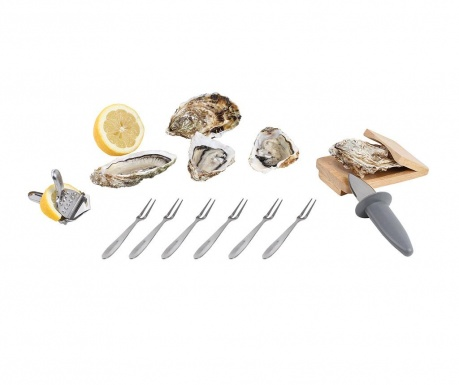 9 delni set za ostrige Oyster