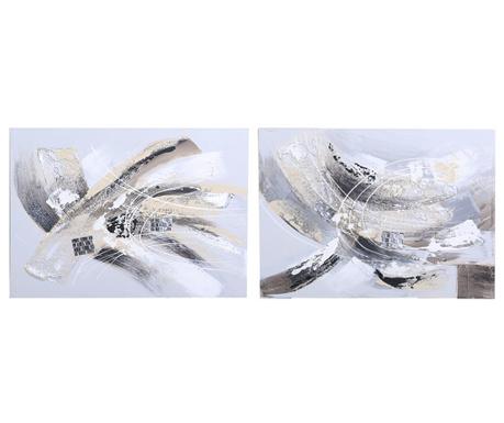 Zestaw 2 obrazów Greta 50x70 cm