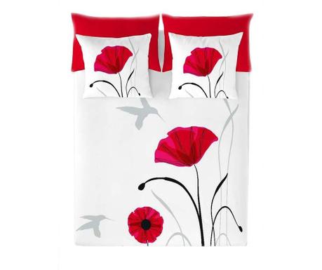 Set de pat  Double Poppy