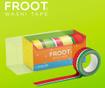 Sada 5 lepiacich pások Froot Washi