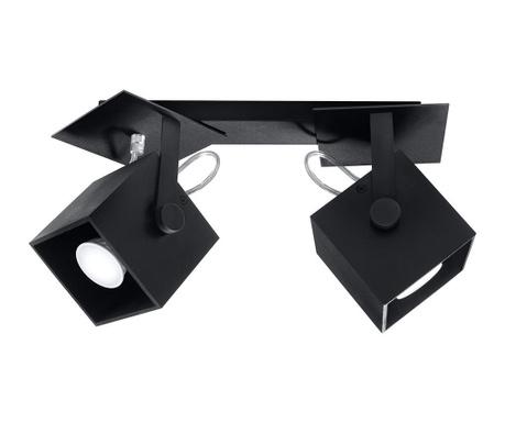 Stropna svjetiljka Noe Duo Black
