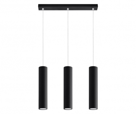 Závěsná lampa Castro Trio Black