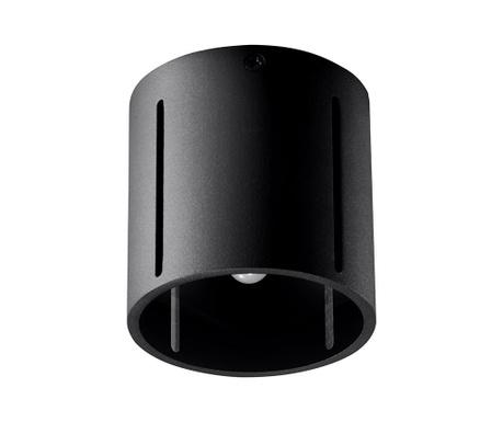 Stropna svjetiljka Vulco Black