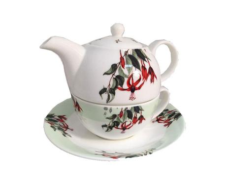 Set ceainic cu ceasca si farfurioara Audemar