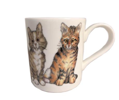 Skodelica Cats Stripe 400 ml