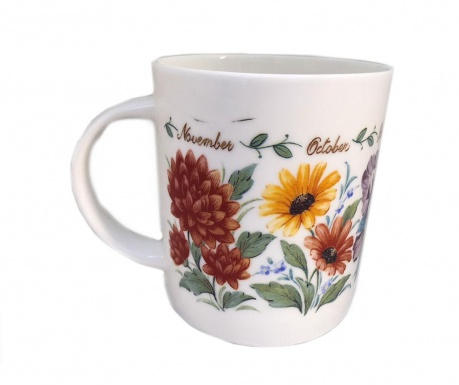 Skodelica Flowers of the Month 400 ml