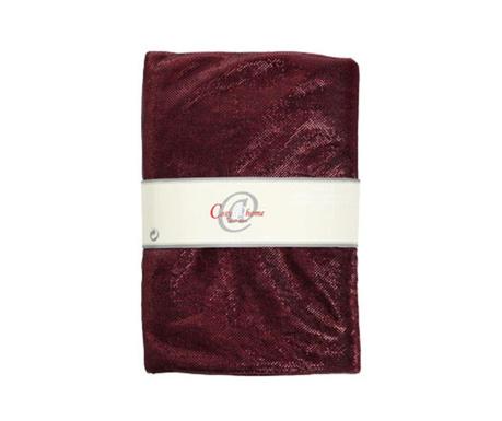 Dekoračná textilná látka Glamour Dark Red 150x300 cm