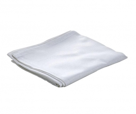 Středový ubrus Glamour White 40x180 cm